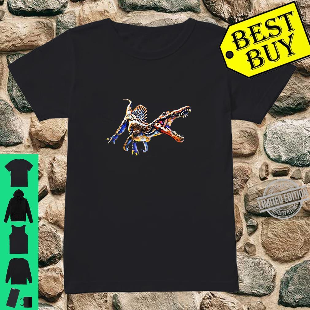 Dinosaurier Spinosaurus Shirt Saurier Damen Herren Kinder Shirt ladies tee