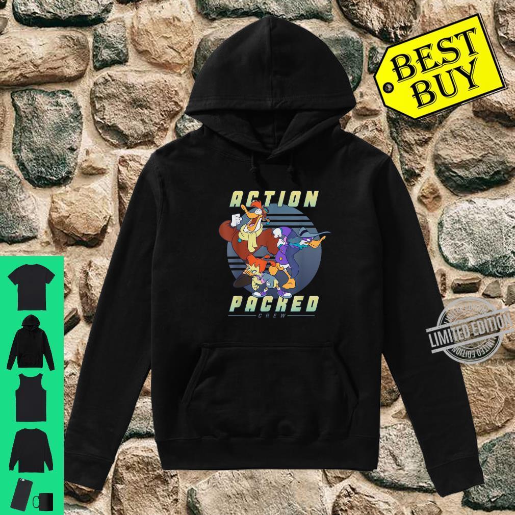 Disney Darkwing Duck Action Packed Crew Shirt hoodie